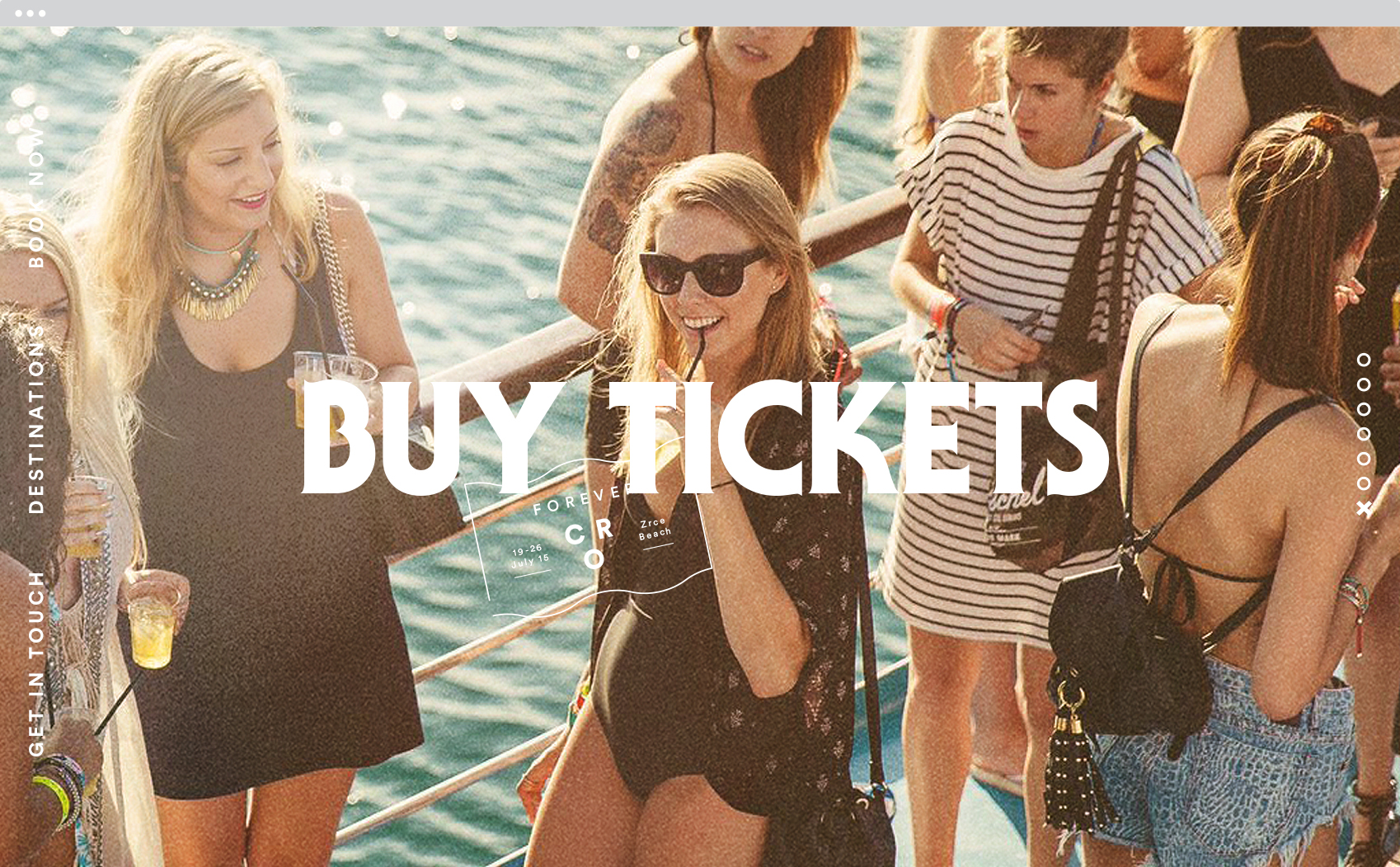 tickets page
